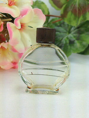 Vintage Ciro Richochet Perfume Bottle Glass 1 3/4""