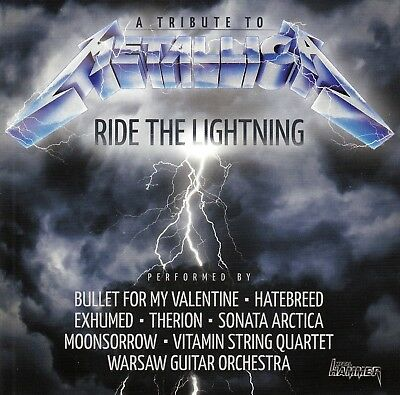 CD • A TRIBUTE TO METALLICA • 2014 • RIDE THE LIGHTNING (Metal Hammer Exclusive)