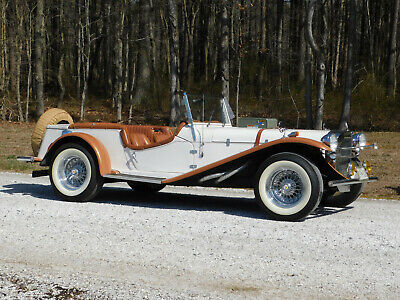 1929 Replica/Kit Makes Mercedes-Benz SSK Street Rod; Hot Rod Volkswagen Powered, 4-Speed, w/Top and Side curtains, low mileage. (video)