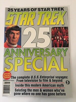 STAR TREK 25th ANNIVERSARY SPECIAL Official Collector's Edition Magazine 1991