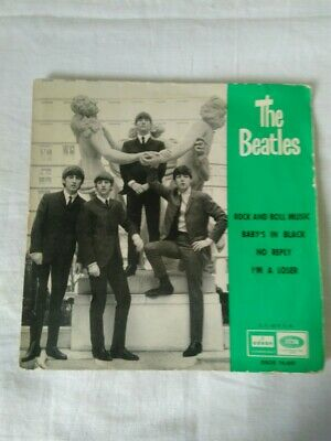 Disque vinyle 45 T. THE BEATLES - ROCK AND ROCK MUSIC