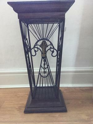 Antique Mahogany Arts & Crafts Umbrella /Cane Stand Free Delivery