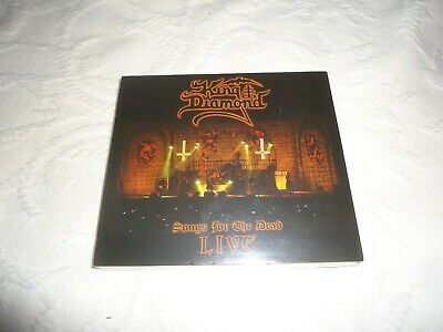 King Diamond-Songs For The Dead Live 2019 Metal Blade Records 2 Dvds-1 Cd New