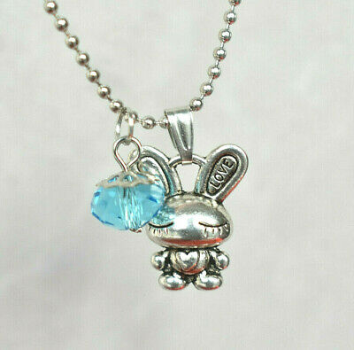 Personalised Chinese Zodiac Animal Sign Birthstone Tibetan Silver Necklace