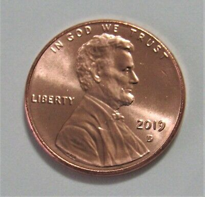 2019-D 1C Lincoln Shield Cent