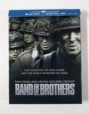 Band of Brothers: Complete HBO Series Blu-ray (6-Disc) w/Slipbox -No digital