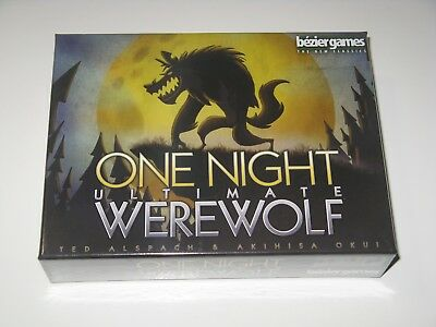 One Night Ultimate Werewolf NEW SW Bezier Games party family game