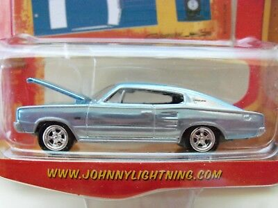 1966 /'66 DODGE CHARGER LIGHT GREEN THE SPOILERS DIECAST JOHNNY LIGHTNING JL 2016