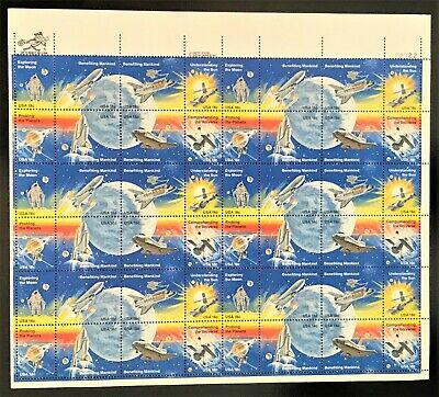 Scott 1912-1919 Space Achievement Mint Sheet