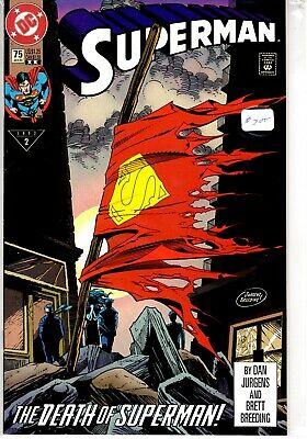 DC COMICS SUPERMAN : THE DEATH OF SUPERMAN! ISSUE 75 VOLUME 2 Excellent
