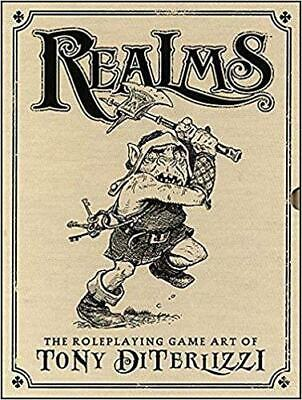 Realms Role Playing Game Art OF Tony Diterlizzi Ltd Ed Hardcover