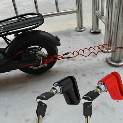 Anti-Theft Disc Brakes Lock For Xiaomi Mijia M365 Electric Scooter Steel Wire