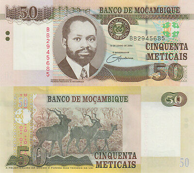 Coins & Paper Money Mozambique 200 Meticais 2006 Pick 146