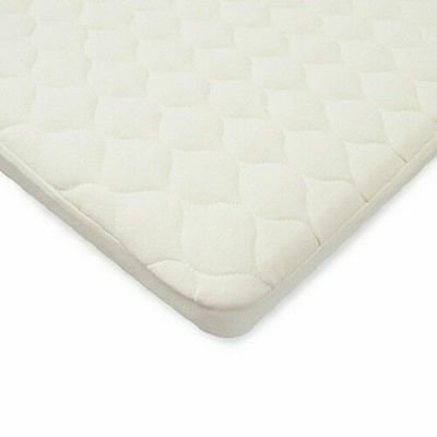 TL Care Organic Cotton Waterproof Quilted Pack n' Play Playard Mattress Cover
