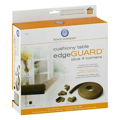 Prince Lionheart Table Edge Guard with 4 Corners, Grey/Beige