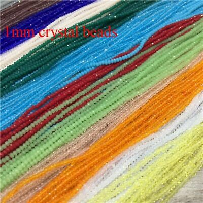 Beads Faceted For Jewelry Necklace Making Diy Fashion 200Pcs Strand Glass Small