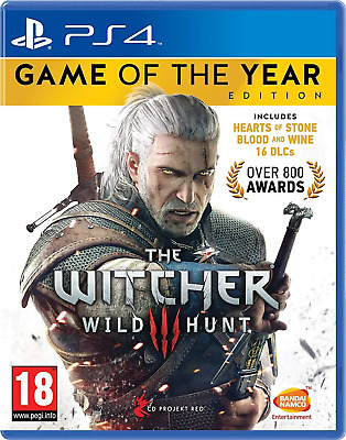 The Witcher 3 GOTY Edition PS4 - Brand New - Factory Sealed - Region Free