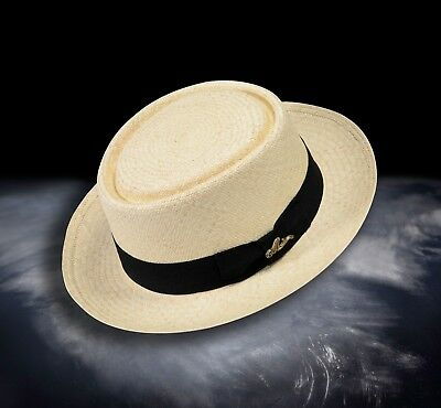 4433633ac4e6d9 Monticristi® Genuine Montecristi Panama Hat 12 Grade PORK PIE on Sale