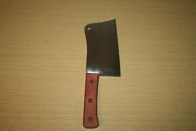 """Full Tang Meat Cleaver with Wooden Handle & 77 1/2"""" Blade"""