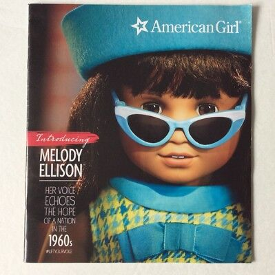 American Girl Doll 2016 Catalog - Introducing Melody Ellison Voice In 1960s