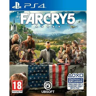Far Cry 5 PS4 - Region Free - Brand New - Factory Sealed