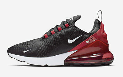 low priced c4821 61891 Nike Air Max 270 Black White Red Mens Sneakers Trainers Shoes 6 7 8 9 10