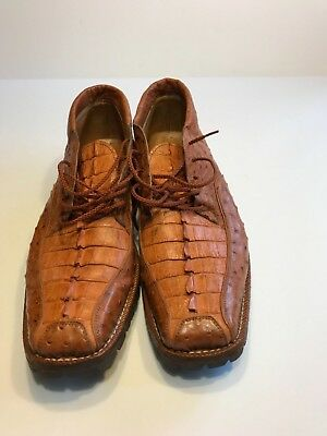 Max Leather Genuiine  Ost / Croc  Shoes   Size  11