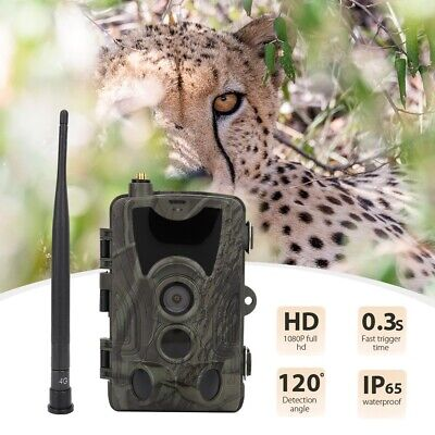 Outdoor HD 1080P Video Wildlife IR Trail Hunting Camera Battery Powered 36LEDs