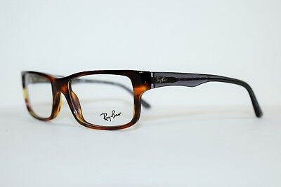 5706d0cca7 New Ray Ban Rb 5245 5607 Tortoise Gray Authentic Eyeglasses Rx 5245 52-17-