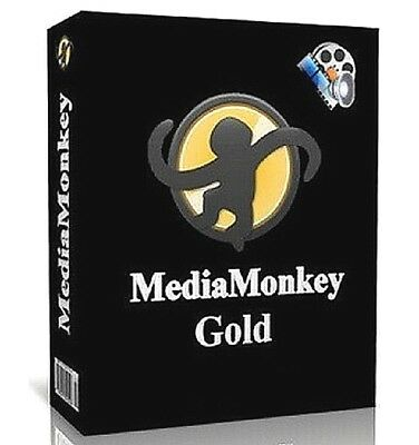 Media Monkey Gold Edition 2019 Music Manager - Windows - Instant Fast Download