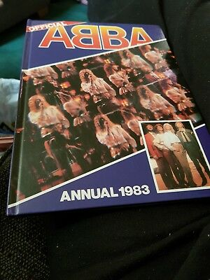 The Abba Annual 1983 X  GOOD CONDITION FOR AGE X EXTREMELY RARE X 1640 X