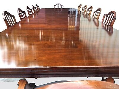 Fantastic 14.9ft Antique Grand Victorian Walnut dining table 1831-1901
