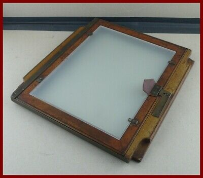"""11x14"""" Ground Glass (27,9x35,6cm) HANDMADE (custom size and thickness available)"""