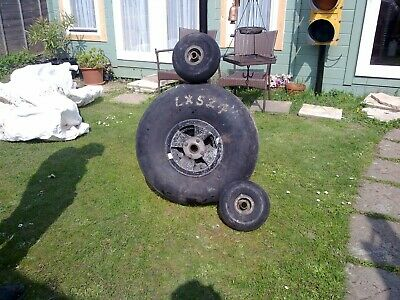 Aircraft wheels and tyres