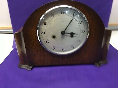 Large Enfield Wooden Case Mantle Clock