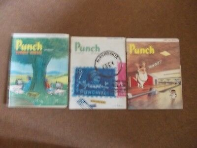 """""""PUNCH"""" MAGAZINES. 1st JUNE SUMMER ISSUE, 10th JUNE, 17th JUNE 1964"""