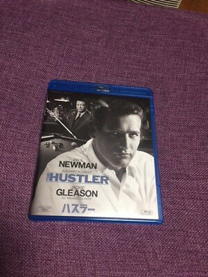 The Hustler - Japanese bluray - Paul Newman, Jackie Gleason - pool room drama