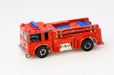 Hot Wheels Red Fire Eater Fire Truck Diecast Car
