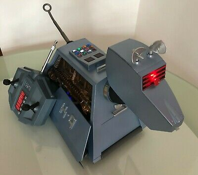 """Doctor Who K9 K-9 Radio Remote Control Electronic Toy Large 15"""" Figure Complete"""
