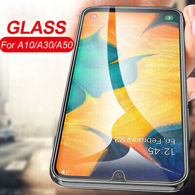 9H Screen Protector Tempered Glass Protective Film For Samsung Galaxy A30 A50