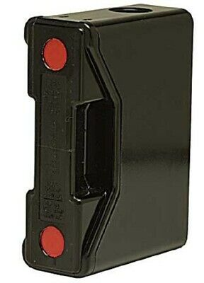 Bussmann RED SPOT FUSE HOLDER 140x100x51mm 100A 690V For TCP Front Wired, Black