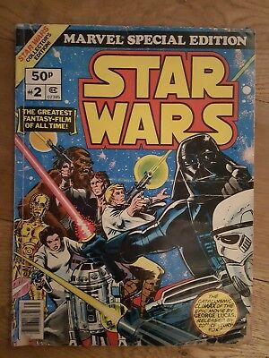 Star Wars Marvel Special Edition No.2 Collector's Edition Over Sized Comic 1977