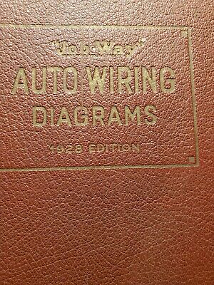 automobile wiring diagrams jobway vintage auto wiring book 1928 addition