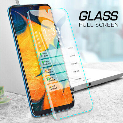 5Pcs Tempered Glass Screen Protector For Samsung Galaxy A30 A50 Protective Film