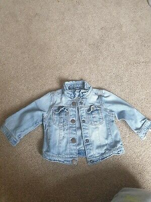 Baby girl jeans jacket 6/9
