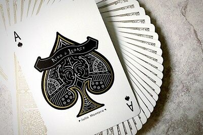 1 DECK King & Legacy Gold Edition (marked) playing cards