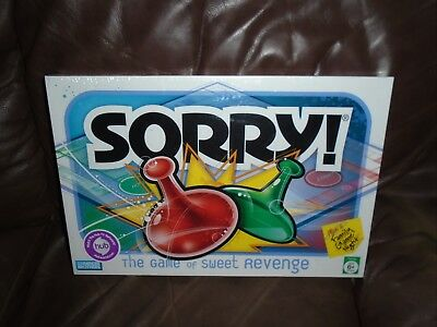 Sorry Hasbro Family Game Night Board Game 2005 Parker Brothers - Sealed NEW