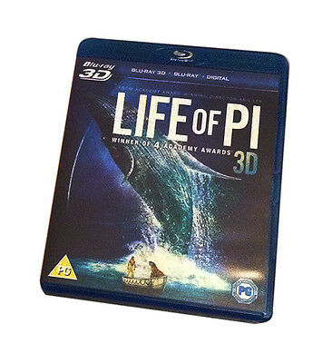 Life Of Pi (3D Blu-ray, 2013)