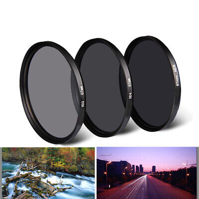 37/49/52/55/58/67/72/77/82mm Neutral Density ND 2 4 8 Lens Filter for Canon Sony