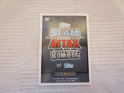 WWE Rumble Legends Slam Attax Trading Cards